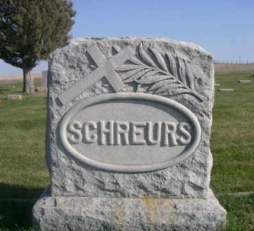 SCHREURS, FAMILY PLOT - Sheridan County, Nebraska | FAMILY PLOT SCHREURS - Nebraska Gravestone Photos