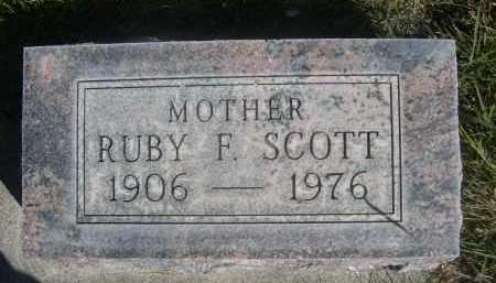 SCOTT, RUBY F. - Sheridan County, Nebraska | RUBY F. SCOTT - Nebraska Gravestone Photos