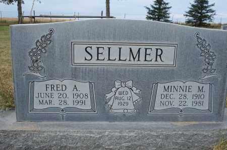 SELLMER, MINNIE M. - Sheridan County, Nebraska | MINNIE M. SELLMER - Nebraska Gravestone Photos