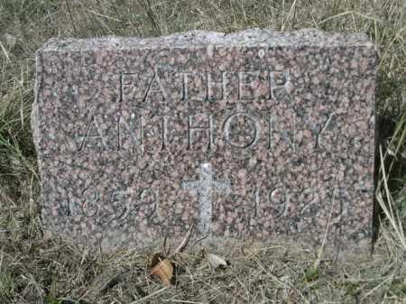SERBOUSEK, ANTHONY - Sheridan County, Nebraska | ANTHONY SERBOUSEK - Nebraska Gravestone Photos