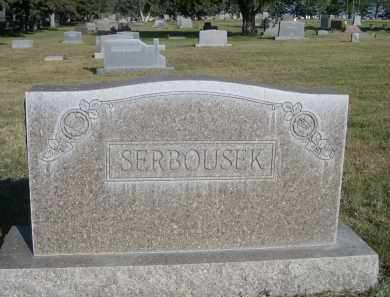 SERBOUSEK, FAMILY - Sheridan County, Nebraska | FAMILY SERBOUSEK - Nebraska Gravestone Photos