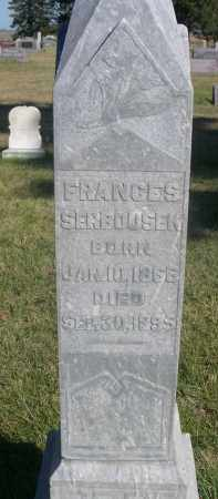 SERBOUSEK, FRANCES - Sheridan County, Nebraska | FRANCES SERBOUSEK - Nebraska Gravestone Photos