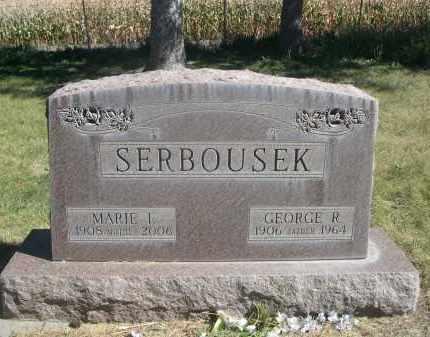 SERBOUSEK, GEORGE R. - Sheridan County, Nebraska   GEORGE R. SERBOUSEK - Nebraska Gravestone Photos