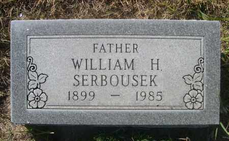 SERBOUSEK, WILLIAM H. - Sheridan County, Nebraska | WILLIAM H. SERBOUSEK - Nebraska Gravestone Photos