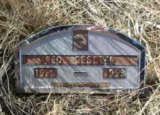 SESSLER, FRED - Sheridan County, Nebraska | FRED SESSLER - Nebraska Gravestone Photos