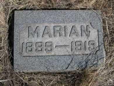 SESSLER, MARIAN - Sheridan County, Nebraska | MARIAN SESSLER - Nebraska Gravestone Photos