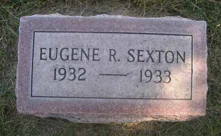 SEXTON, EUGENE R. - Sheridan County, Nebraska | EUGENE R. SEXTON - Nebraska Gravestone Photos