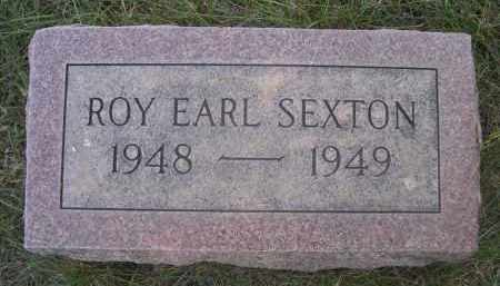 SEXTON, ROY EARL - Sheridan County, Nebraska | ROY EARL SEXTON - Nebraska Gravestone Photos
