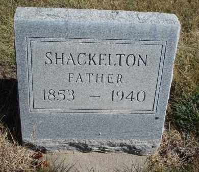 SHACKELTON, FATHER - Sheridan County, Nebraska | FATHER SHACKELTON - Nebraska Gravestone Photos