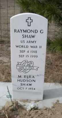 SHAW, RAYMOND G. - Sheridan County, Nebraska | RAYMOND G. SHAW - Nebraska Gravestone Photos