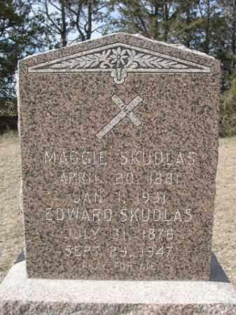 SKUDLAS, MAGGIE - Sheridan County, Nebraska   MAGGIE SKUDLAS - Nebraska Gravestone Photos