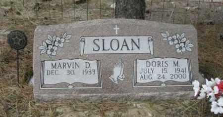 SLOAN, MARVIN D. - Sheridan County, Nebraska | MARVIN D. SLOAN - Nebraska Gravestone Photos