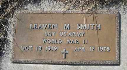 SMITH, LEAVEN M. - Sheridan County, Nebraska   LEAVEN M. SMITH - Nebraska Gravestone Photos