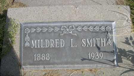SMITH, MILDRED L. - Sheridan County, Nebraska | MILDRED L. SMITH - Nebraska Gravestone Photos