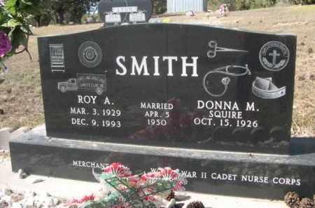 SQUIRE SMITH, DONNA M - Sheridan County, Nebraska   DONNA M SQUIRE SMITH - Nebraska Gravestone Photos
