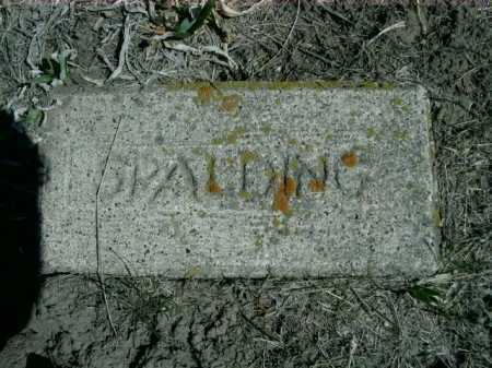 SPALDING, PLOT - Sheridan County, Nebraska | PLOT SPALDING - Nebraska Gravestone Photos