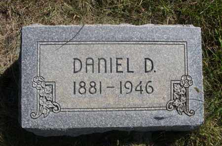 SPEIRS, DANIEL D. - Sheridan County, Nebraska   DANIEL D. SPEIRS - Nebraska Gravestone Photos
