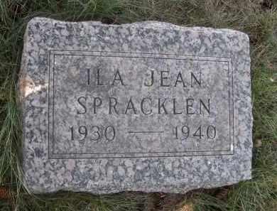 SPRACKLEN, ILA JEAN - Sheridan County, Nebraska   ILA JEAN SPRACKLEN - Nebraska Gravestone Photos