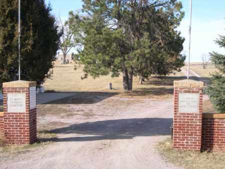 *ST. MARY'S CATHOLIC CEMETERY, ENTRANCE TO - Sheridan County, Nebraska | ENTRANCE TO *ST. MARY'S CATHOLIC CEMETERY - Nebraska Gravestone Photos
