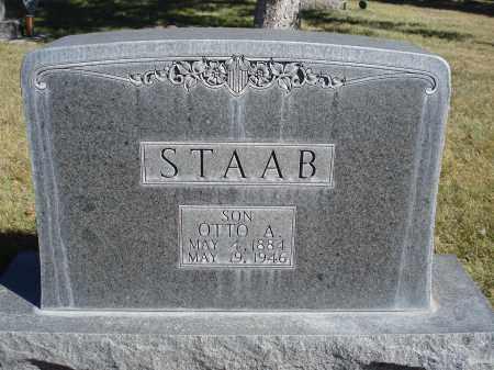 STAAB, OTTO A. - Sheridan County, Nebraska | OTTO A. STAAB - Nebraska Gravestone Photos