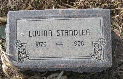 STANDLEA, LUVINA - Sheridan County, Nebraska | LUVINA STANDLEA - Nebraska Gravestone Photos