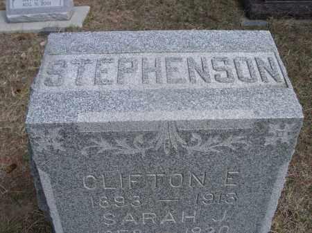STEPHENSON, CLIFTON E. - Sheridan County, Nebraska | CLIFTON E. STEPHENSON - Nebraska Gravestone Photos