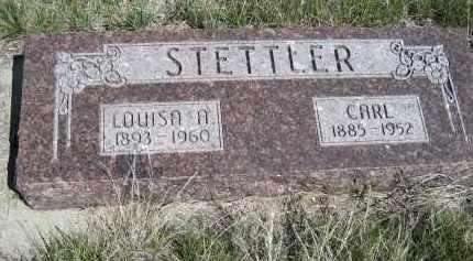 STETTLER, CARL - Sheridan County, Nebraska | CARL STETTLER - Nebraska Gravestone Photos