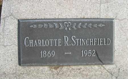 STINCHFIELD, CHARLOTTE R. - Sheridan County, Nebraska   CHARLOTTE R. STINCHFIELD - Nebraska Gravestone Photos