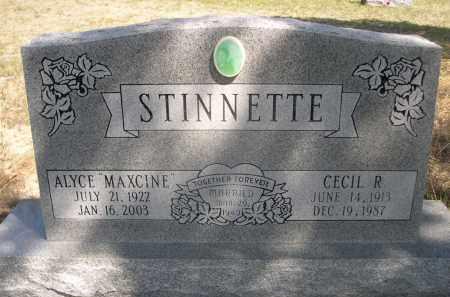 STINNETTE, CECIL R. - Sheridan County, Nebraska | CECIL R. STINNETTE - Nebraska Gravestone Photos