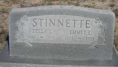 STINNETTE, DELLA L. - Sheridan County, Nebraska | DELLA L. STINNETTE - Nebraska Gravestone Photos