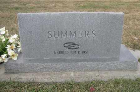 SUMMERS, ALDENE C. - Sheridan County, Nebraska | ALDENE C. SUMMERS - Nebraska Gravestone Photos