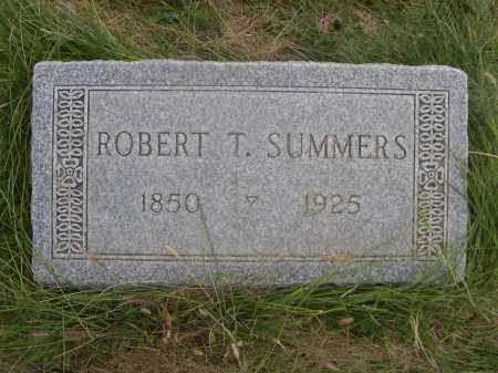 SUMMERS, ROBERT T. - Sheridan County, Nebraska | ROBERT T. SUMMERS - Nebraska Gravestone Photos