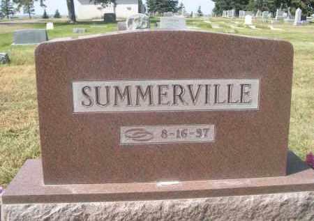 SUMMERVILLE, FAMILY - Sheridan County, Nebraska   FAMILY SUMMERVILLE - Nebraska Gravestone Photos