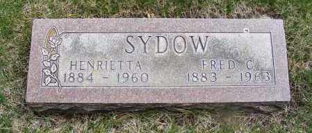 ABOLD SYDOW, HENRIETTA - Sheridan County, Nebraska   HENRIETTA ABOLD SYDOW - Nebraska Gravestone Photos
