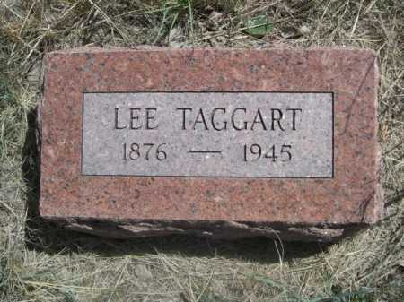 TAGGART, LEE - Sheridan County, Nebraska   LEE TAGGART - Nebraska Gravestone Photos