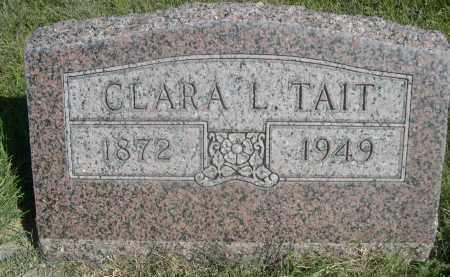 TAIT, CLARA L. - Sheridan County, Nebraska | CLARA L. TAIT - Nebraska Gravestone Photos
