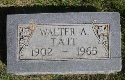 TAIT, WALTER A. - Sheridan County, Nebraska | WALTER A. TAIT - Nebraska Gravestone Photos