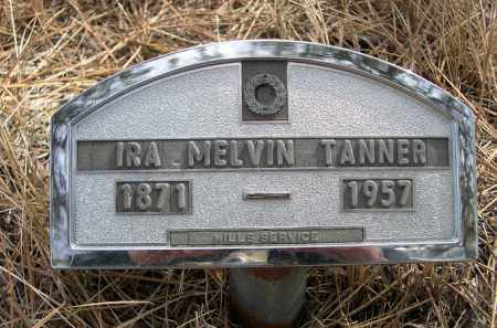 TANNER, IRA MELVIN - Sheridan County, Nebraska | IRA MELVIN TANNER - Nebraska Gravestone Photos