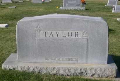TAYLOR, FAMILY STONE - Sheridan County, Nebraska | FAMILY STONE TAYLOR - Nebraska Gravestone Photos