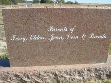 TERRELL, EMMA JEAN - Sheridan County, Nebraska | EMMA JEAN TERRELL - Nebraska Gravestone Photos