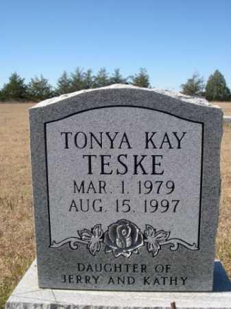 TESKE, TONYA KAY - Sheridan County, Nebraska | TONYA KAY TESKE - Nebraska Gravestone Photos