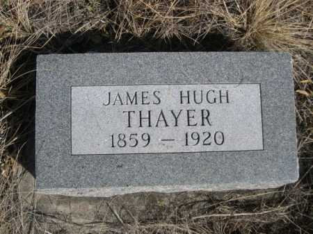 THAYER, JAMES HUGH - Sheridan County, Nebraska | JAMES HUGH THAYER - Nebraska Gravestone Photos
