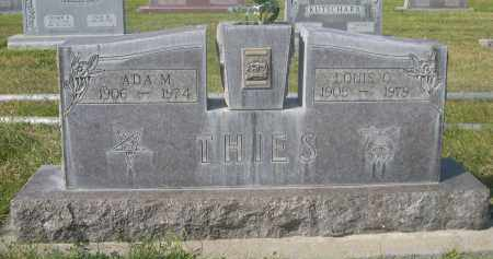 THIES, ADA M. - Sheridan County, Nebraska | ADA M. THIES - Nebraska Gravestone Photos