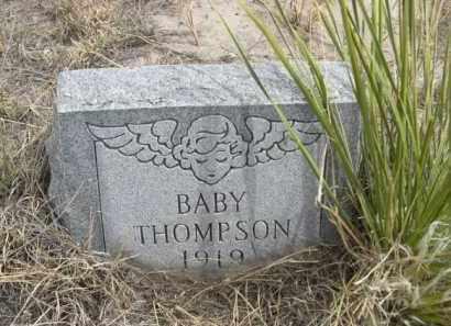 THOMPSON, BABY - Sheridan County, Nebraska | BABY THOMPSON - Nebraska Gravestone Photos