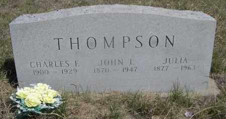 THOMPSON, JULIA - Sheridan County, Nebraska   JULIA THOMPSON - Nebraska Gravestone Photos