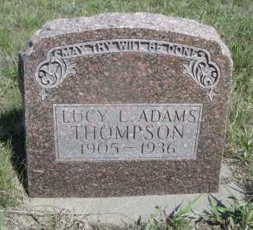 THOMPSON, LUCY L. - Sheridan County, Nebraska | LUCY L. THOMPSON - Nebraska Gravestone Photos