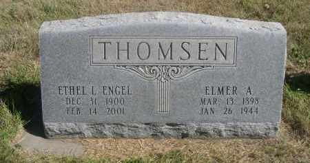 THOMSEN, ETHEL L. - Sheridan County, Nebraska | ETHEL L. THOMSEN - Nebraska Gravestone Photos
