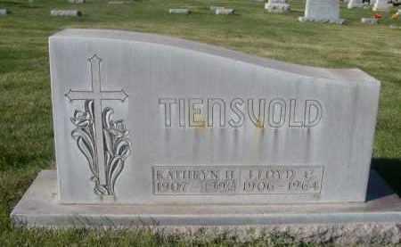 TIENSVOLD, KATHRYN H. - Sheridan County, Nebraska | KATHRYN H. TIENSVOLD - Nebraska Gravestone Photos