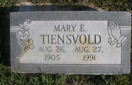 TIENSVOLD, MARY E. - Sheridan County, Nebraska | MARY E. TIENSVOLD - Nebraska Gravestone Photos