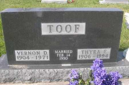 TOOF, THYRA E. - Sheridan County, Nebraska | THYRA E. TOOF - Nebraska Gravestone Photos
